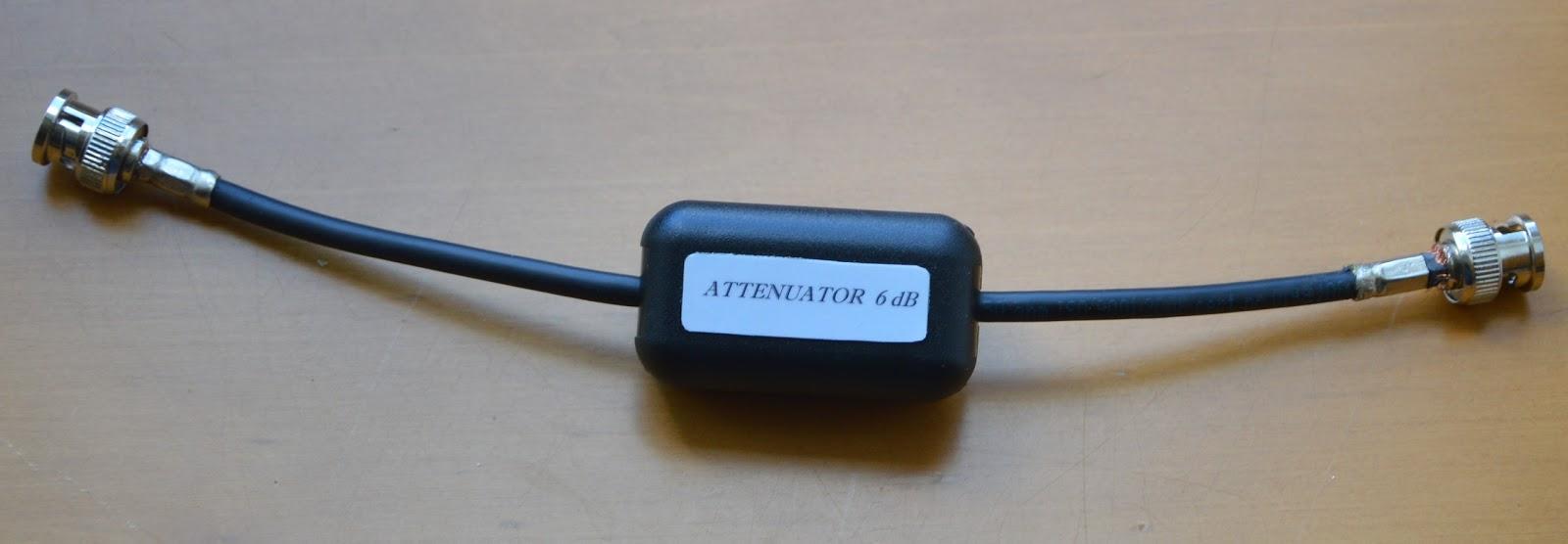 6 dB ateniuarorius