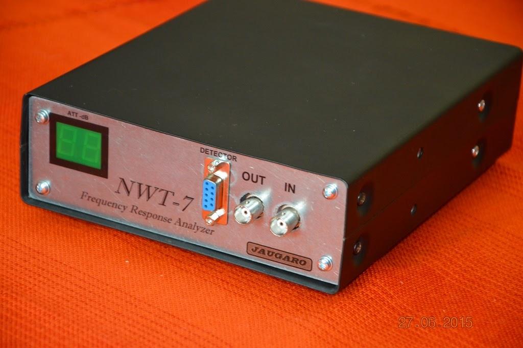 Dažnuminės charakteristikos analizatorius NWT-7