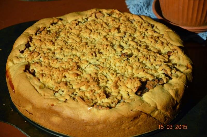 Obuolių pyragas pagal daktarę Loretą